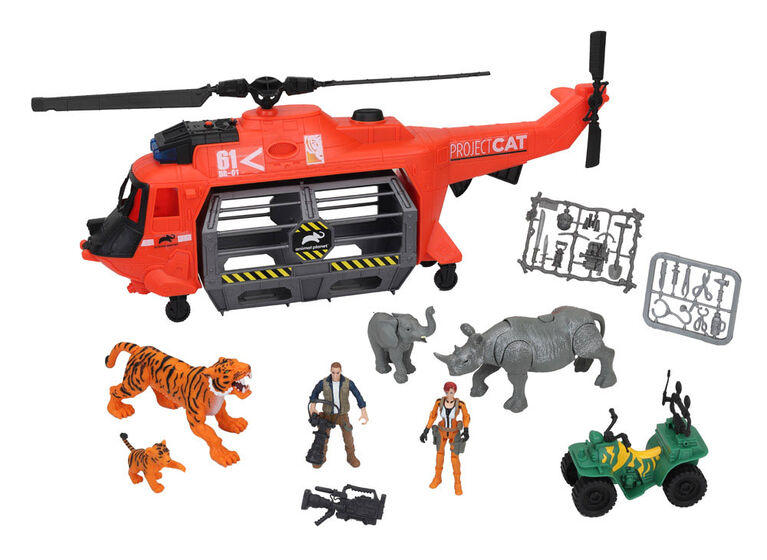 Animal Planet - Project C.A.T - Helicopter Rescue - R Exclusive