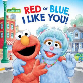 Red or Blue, I Like You! (Sesame Street) - Édition anglaise