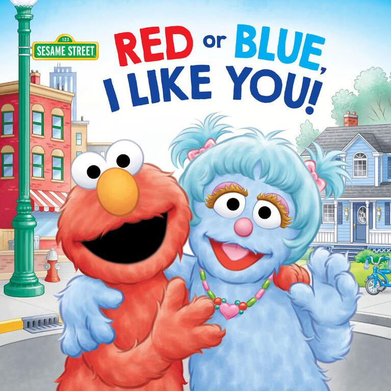 Red or Blue, I Like You! (Sesame Street) - English Edition