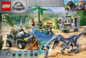 LEGO Jurassic World Baryonyx Face-Off: The Treasure Hunt 75935