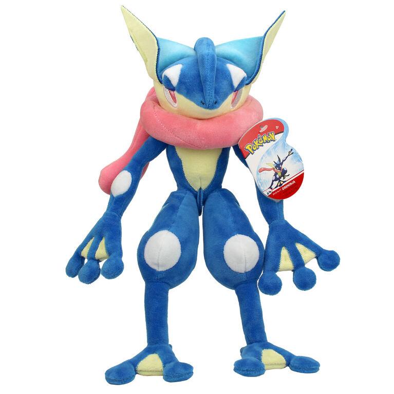 Peluche Pokémon de 30,4 cm - Amphinobi (Greninja)