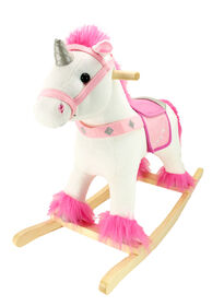 Animal Adventure White Unicorn Fantasy Rocker