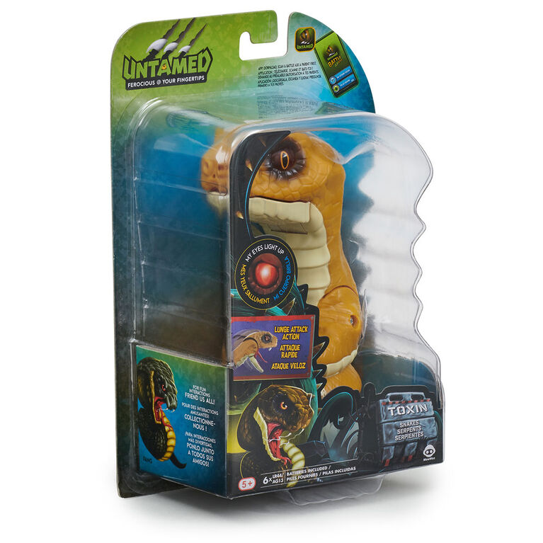 Untamed Snakes - Toxin (Rattle Snake) - Interactive Toy <br>