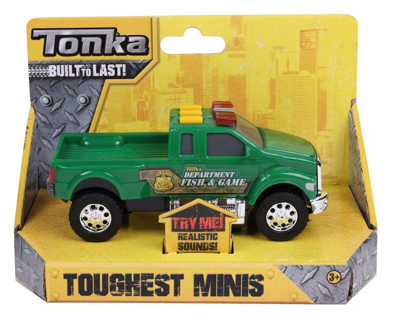 Camion de pêche et chasse Toughest Minis de Tonka.