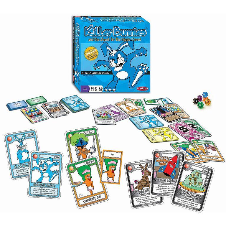 Killer Bunnies Quest Blue Starter Game