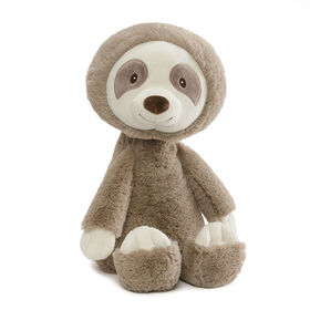 """Baby GUND Baby Toothpick Reese Sloth Plush Stuffed Animal, Gender-Neutral, Taupe, 16"""""""