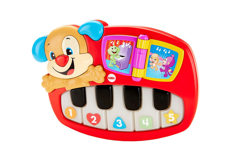Fisher-Price Laugh & Learn Puppy's Piano - English Edition