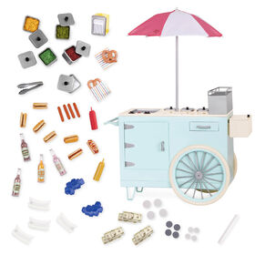 Our Generation, Retro Hot Dog Cart for 18-inch Dolls