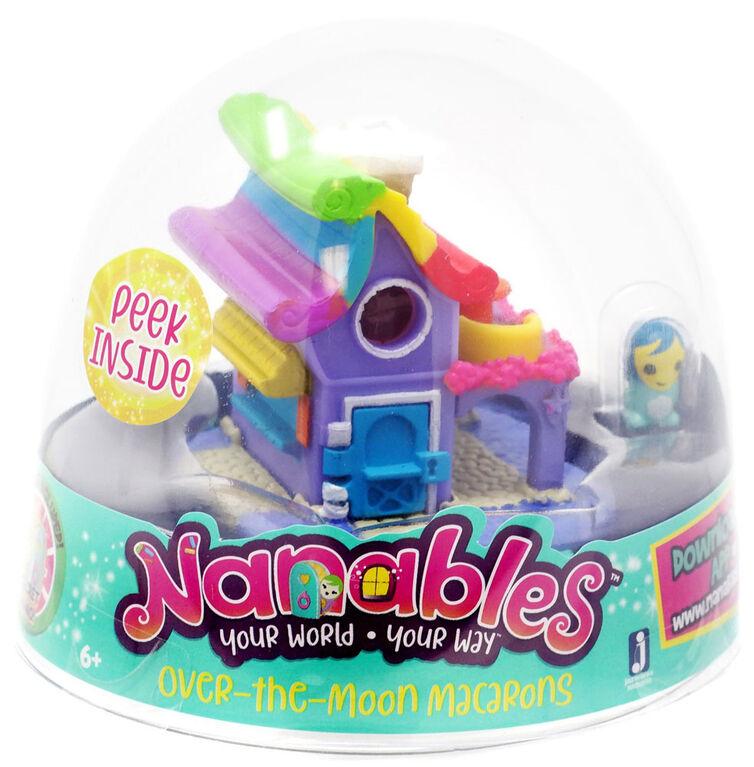 Nanables - Petite maison des macarons au-dessus de la lune - Édition anglaise