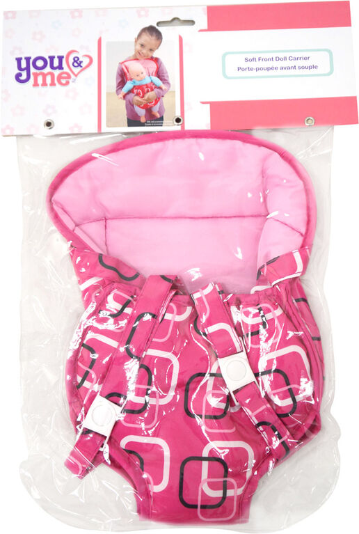 You & Me - Soft Front Doll Carrier