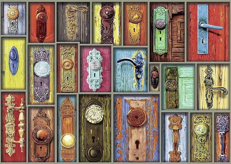 Ravensburger! Antique Doorknobs casse tête (1000pc)