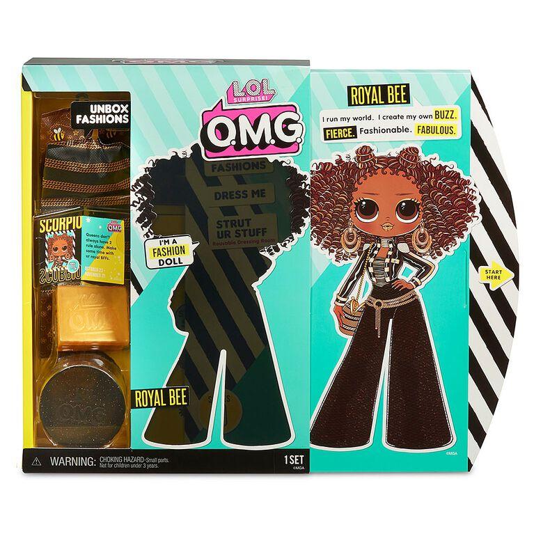 L.O.L. Surprise! O.M.G. Royal Bee Fashion Doll