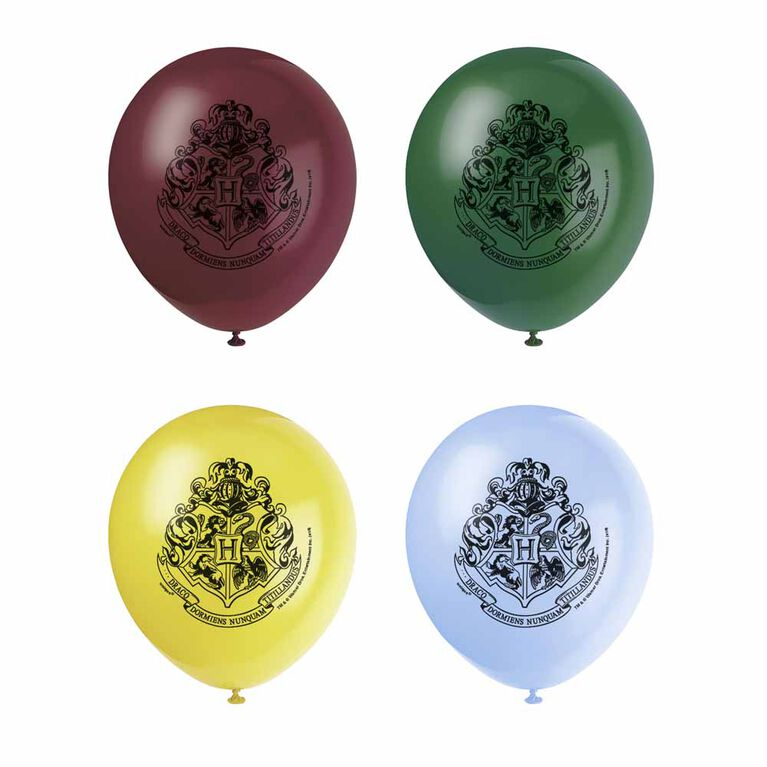 """Harry Potter 12"""" Latex Balloons 8 pieces"""