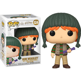 Figurine en Vinyle Holiday Ron Weasley par Funko POP! Harry Potter