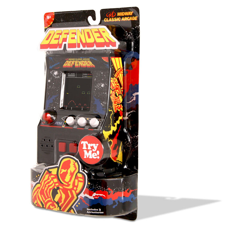 Arcade Classics - Defender Retro Mini Arcade Game