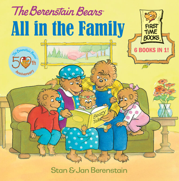 Berenstain Bears: All In The Family - Édition anglaise