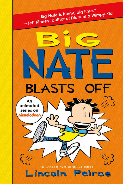 Big Nate Blasts Off - Édition anglaise