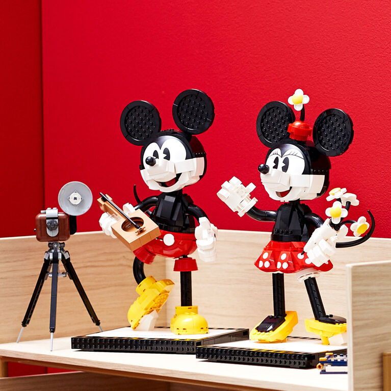 LEGO Disney Princess Mickey & Minnie Mouse Character Build 43179