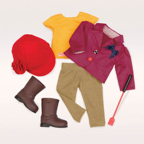 Our Generation, Ready To Ride, Equestrian Outfit for 18-inch Dolls