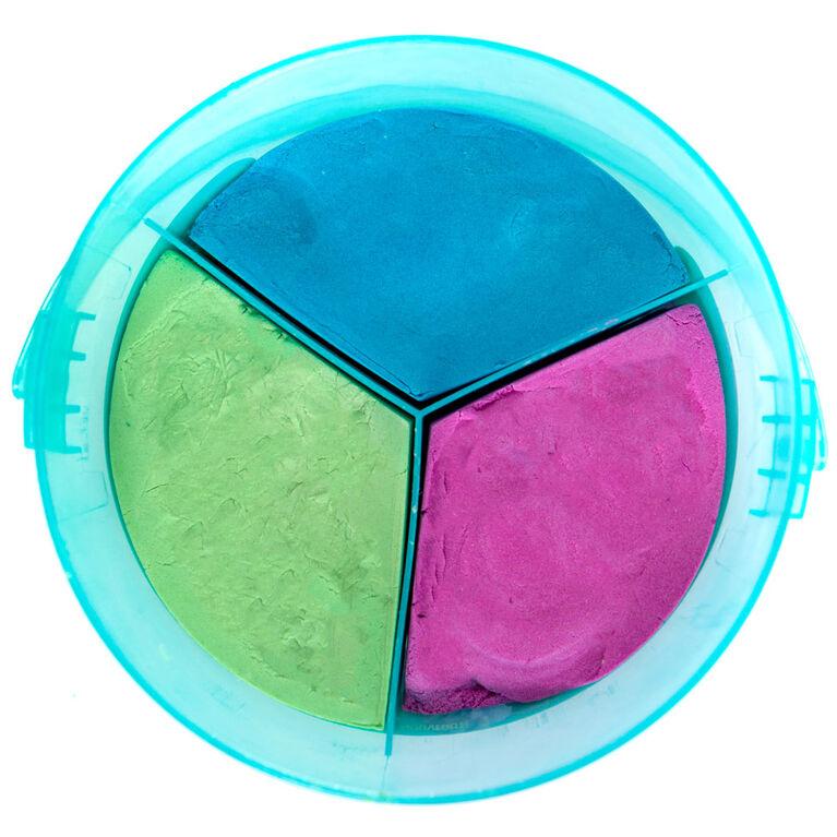Slimygloop Slimysand Seau Tricolore De 2,265 Kg