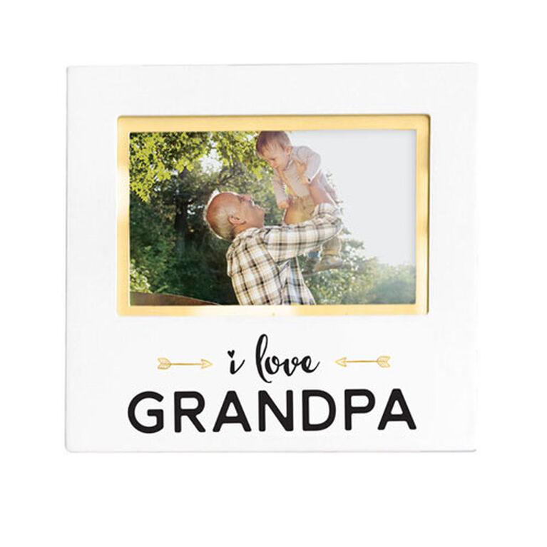Pearhead I Love Grandpa Sentiment Frame - English Edition