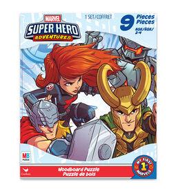 Marvel Superhero Adventures, 9-Piece Woodboard Puzzle