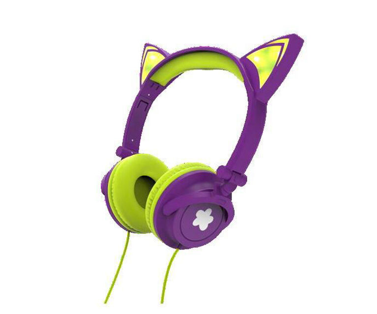 Limited Too Cat Ear Wired Headphones