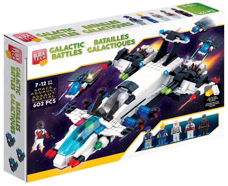 Block Tech - Galactic Battles: Space Assault 602 pc