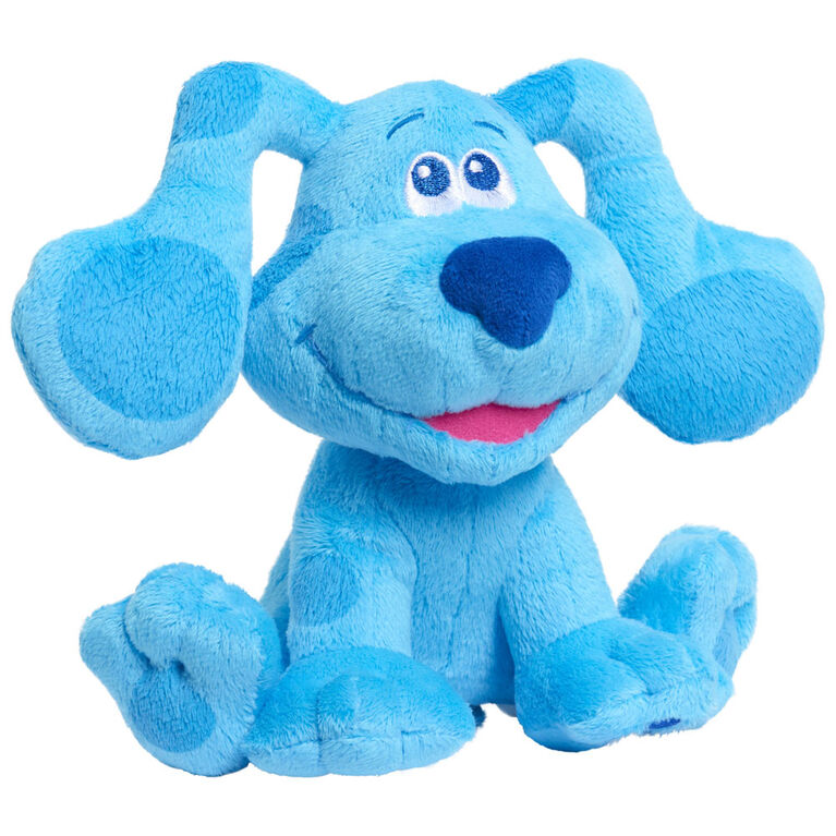 Blue's Clues & You! Peluche à Grains Qui Aboie - Blue - Notre exclusivité
