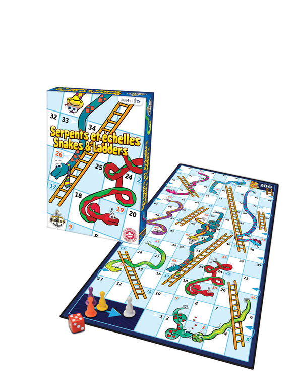 Snakes & Ladders - styles may vary
