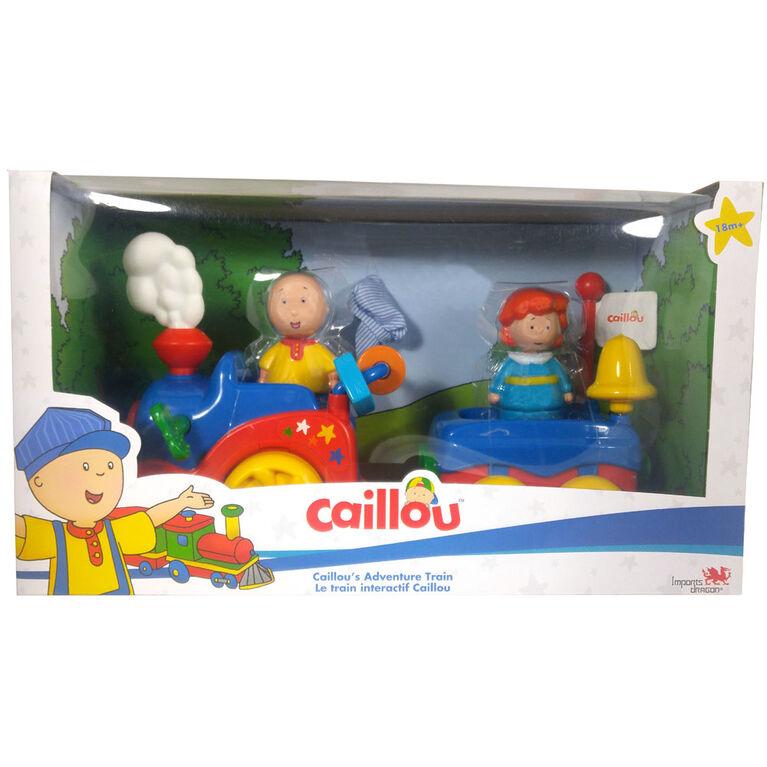Le train Intéractif Caillou - Édition française