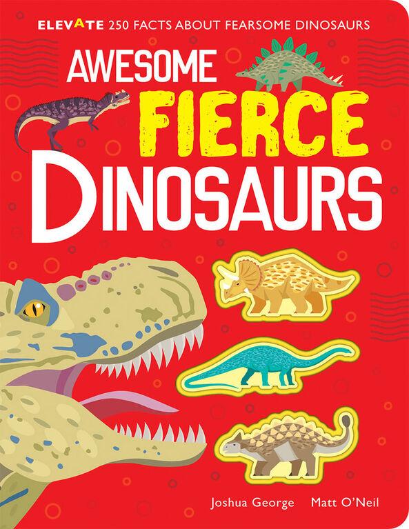 Awesome Fierce Dinosaurs - English Edition