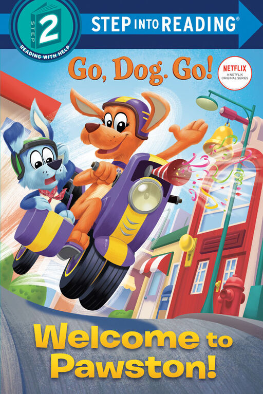 Welcome to Pawston! (Netflix: Go, Dog. Go!) - English Edition
