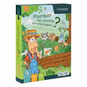 Placote - The Case of the missing Carrots - educational game - French Edition