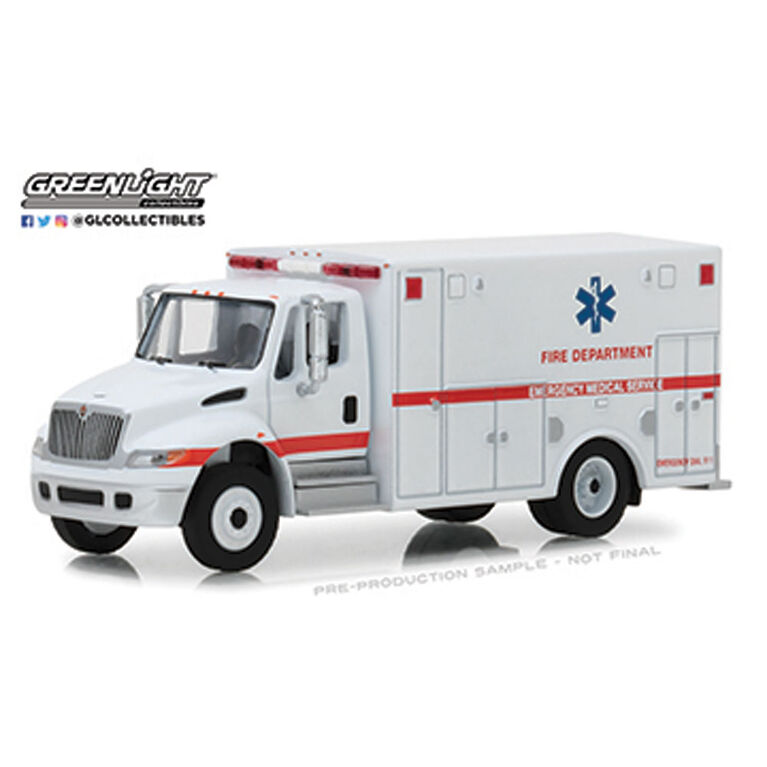 HD Trucks - International Dura Star Ambulance