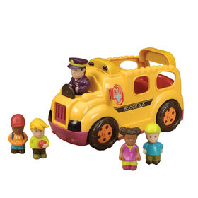 B. Toys Boogie Bus, Rrrroll Models, Interactive Toy School Bus