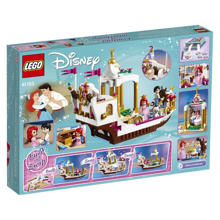 LEGO Disney Princess Mariage sur le navire royal d'Ariel 41153