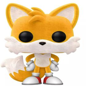 Funko POP! Games: Sonic - Tails (Flocked)  - R Exclusive