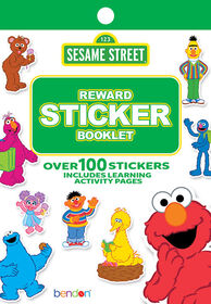Sesame Street Reward Stickers - English Edition