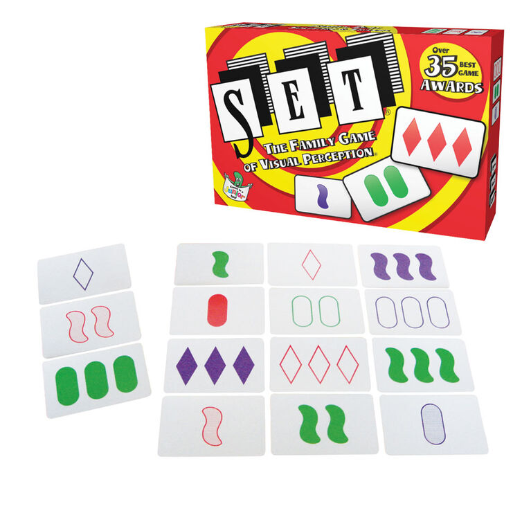 Set Card Game - English Edition