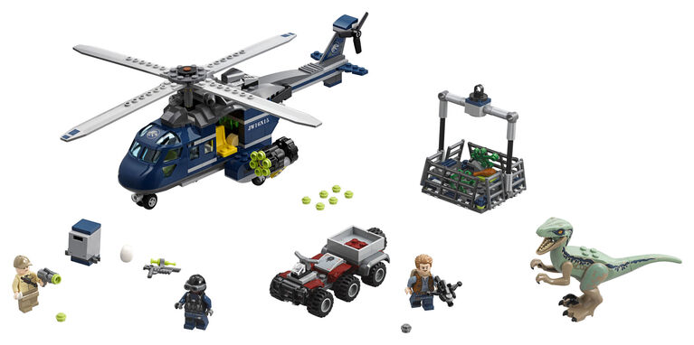 LEGO Jurassic World Blue's Helicopter Pursuit 75928