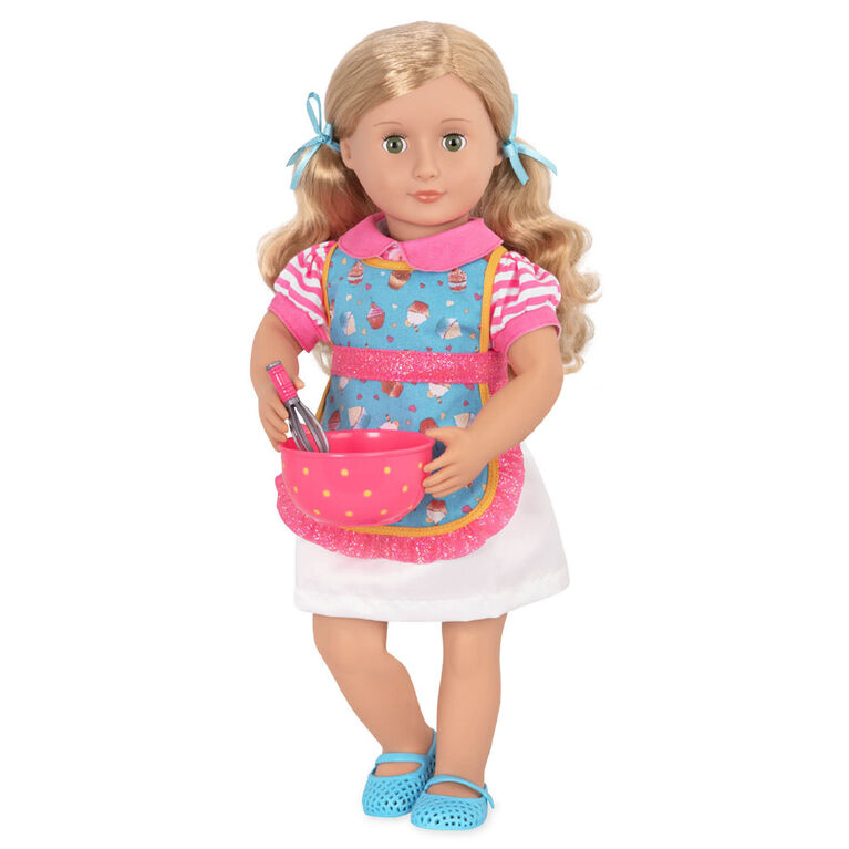 Our Generation, Jenny, 18-inch Posable Baker Doll