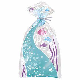 "Mermaid Cellophane Bags, 5""x11"", 20 pieces"