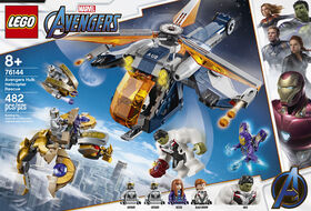 LEGO Super Heroes Avengers Hulk Helicopter Rescue 76144