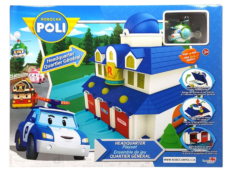 Robocar Poli - Ensemble de jeu Quartier Général