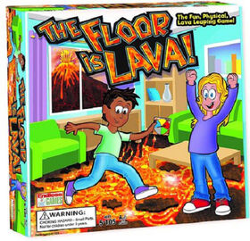 "Jeu de ""The Floor is Lava"""