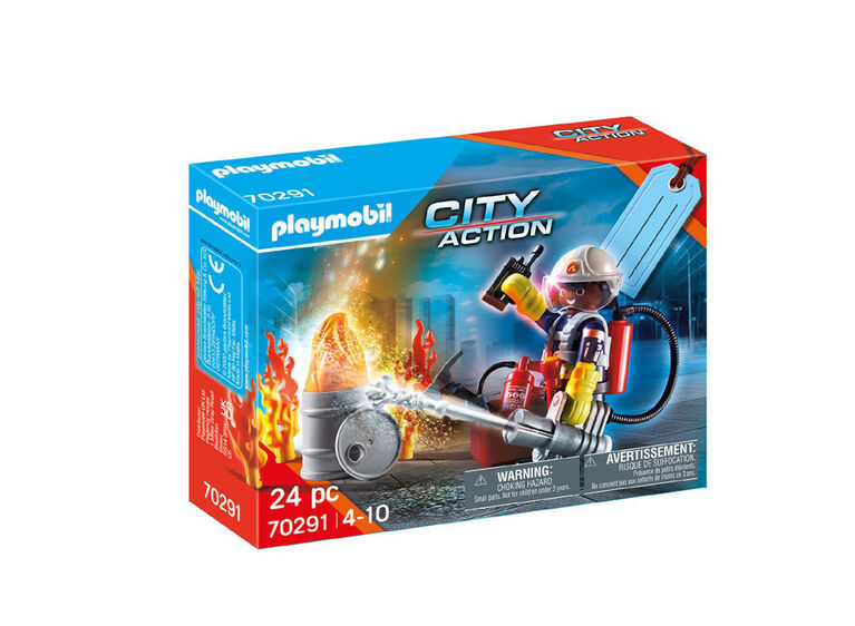 Playmobil - Fire Rescue Gift Set