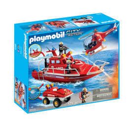 Playmobil - Fire Brigade Set (9503)