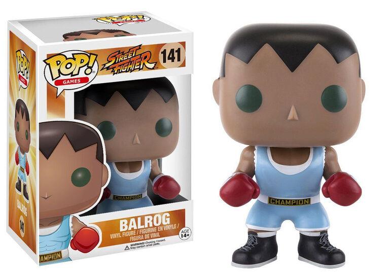 Funko POP! Games: Street Fighter - Balrog Action Figure