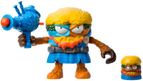The Grossery Gang Time Wars Wave 2 Action Figure – Jock Slop Burger